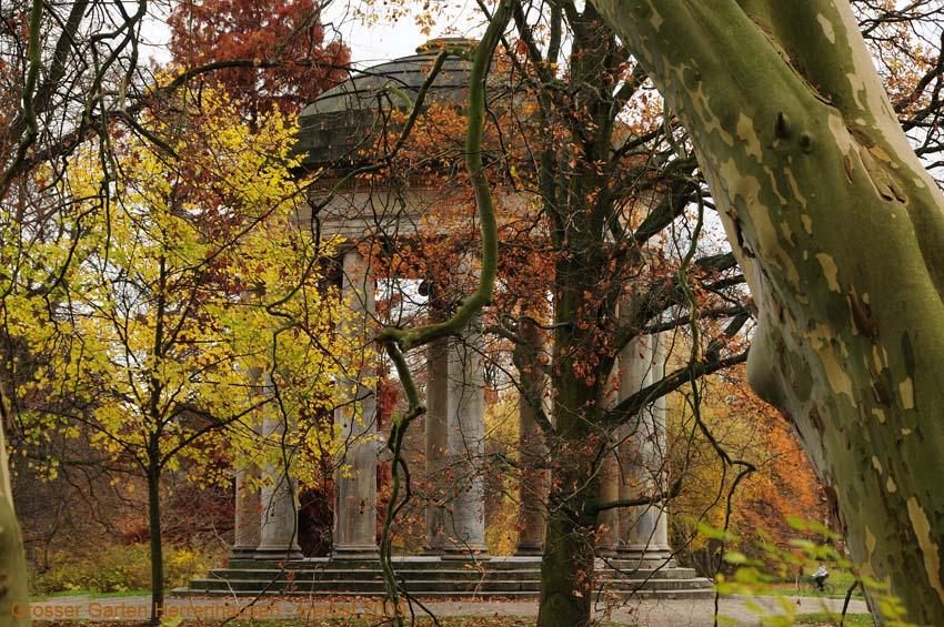 Grosser Garten Herrenhausen, Herbst 2009